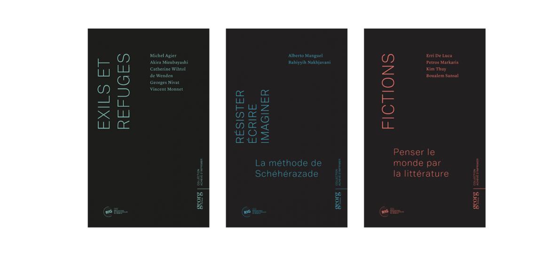 """RIG, collection """"Achevé d'imprimer"""", éditions Georg, 2016 - 2018"""