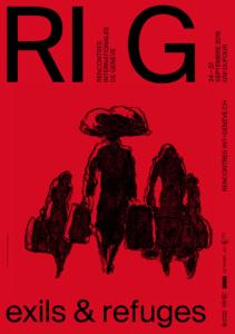 RIG-affiche-2018-exils-et-refuges-De-Isusi-Chris-Gautschi